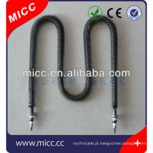 Aquecedor aletado em forma de W de alta potência W MICC