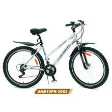 Ladys Bicicleta de montaña de aleación de 26 pulgadas (ANB10PR-2662)