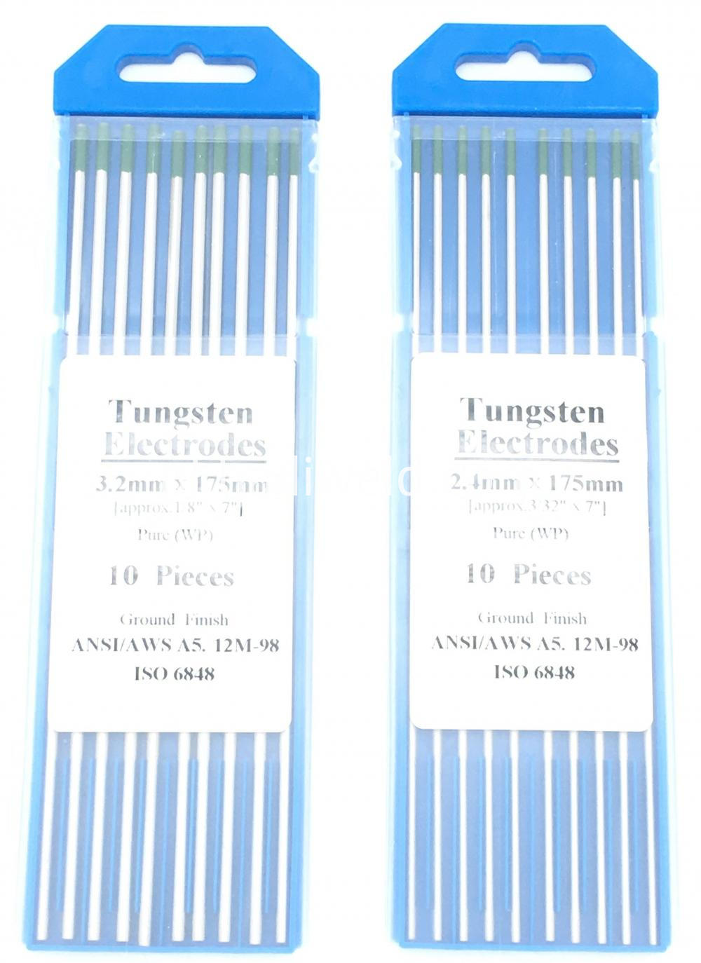 Green Tip 3 2175mm Wp Tig Welding Electrodes Tungsten