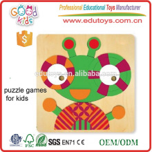 Baby Eye Hands Developmental Educational Toys Wooden Kids Play Puzzle