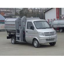 Caminhão de lixo DONGFENG auto-carga e descarga