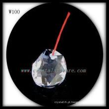 Belo talão de cristal para decoração de casa W100