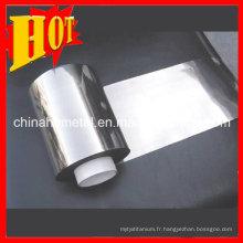 GR2 0.025mm épaisseur titane aluminium en bobine