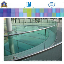 Safety Large Bathroom Decorative Wall/Clear Glass