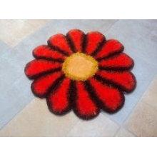 Sonnenblumen Design Seide Shaggy Teppich Teppich