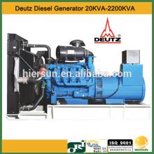 50hz 60hz 3 fases Deutz Generador Diesel 20KVA-2200KVA