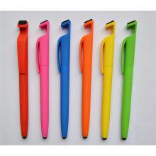 El lápiz de pie para teléfono móvil con One Stylus Touch y limpiador para pantalla