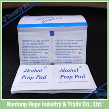 Álcool descartável pré pad