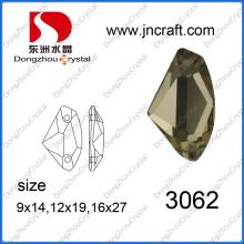 Coudre sur strass cristal pour la vente en gros (DZ-3062)
