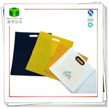 Индивидуальная сумка-ручка для нетканых материалов для одежды, продуктов питания, товаров
