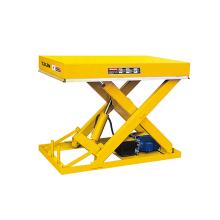 Xilin 1000KG 2200lbs Stationary Hydraulic Single Scissor Lift Platform