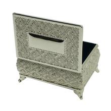 Металлическая коробка для ювелирных изделий оптом