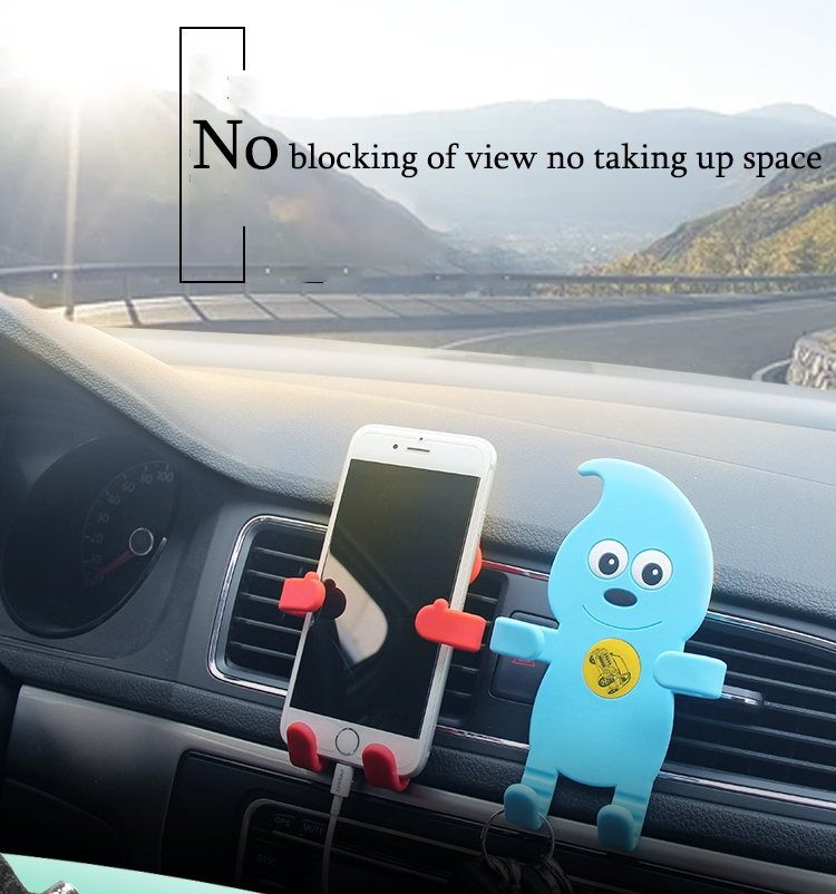 silicone car phone holder