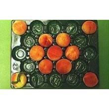 41X33cm Tipo de proceso de ampolla de embalaje fresco del melocotón Uso popular barato del trazador de líneas plástico de la fruta disponible en Australia