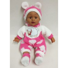 "22"" Sheep Baby Vinyl Doll"
