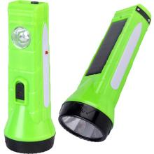 Lampe de poche LED solaire avec batterie rechargeable