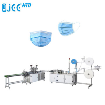 Machine de production de masque facial jetable chirurgical automatique