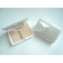 Praça de packaing Yaqi cosméticos pó compacto compacta em pó