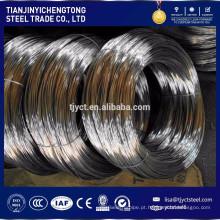 SUS304 316 301 fio de aço inoxidável
