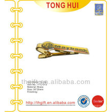 Kundenspezifische Siebdruck-Logo-Krawatten-Clips Metall