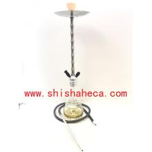 Narguilé en gros en aluminium fumant la pipe narguilé Shisha