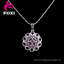 New Design Gemstone Silver Pendant Jewelry