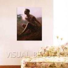 Popular Modern Handmade Man Nude Painting