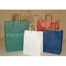 Premium Colorful Kraft Paper Shopping Bag