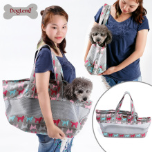 2017 doglemi best-seller cão pet sling bag transportadora