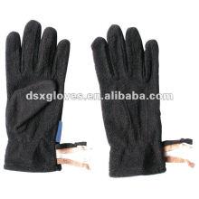Black keep warm winter glove