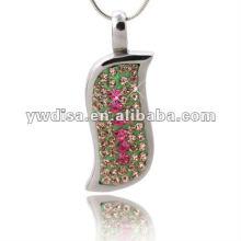 Pingente de alta qualidade de design exclusivo com cristal bonito