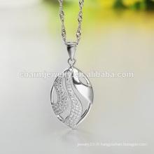 Vente en gros 2016 New Style Fashion Product 925 Sterling Silver Necklace Design pour Femmes SCR001