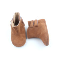 Soft Sole Leather Warm Winter Boots