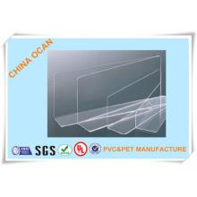 Folha de PVC rígida para capa de ligação