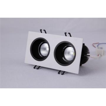 2 Lampen LED Down Light 20W Square Shape Einbauleuchten Innenbeleuchtung