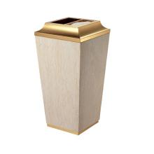 Cone Stainless Steel Lobby Use Dust Bin (YW0055)