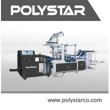 Polythene bag manufacturing machine