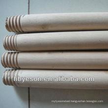 2.2*120cm natural wooden broom handle sticks