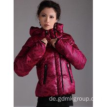Damen Daunenjacke Kurzmantel Mode