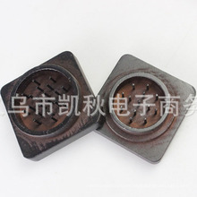 High Quality Square Wooden Herb Smoke Grinder