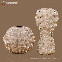 high quality household decorative round resin vase