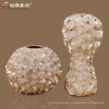 высокое качество бытовых декоративная круглая ваза смолаы