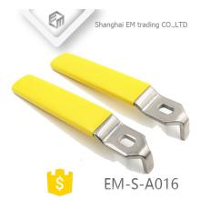 EM-S-A016 Estampado de piezas para manija de acero inoxidable de la válvula