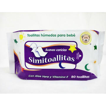 Private Label Flushable Organic Baby Wipes