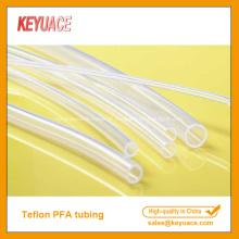 Tubulação termoencolhível de alta transparência PFA