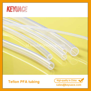 Tinggi Transparan PFA Heat Shrinkable Tubing