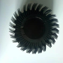 Extrusion CNC-Bearbeitung Sun Flower LED-Kühlkörper
