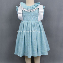 High Quality Smocked Ruffle Dress