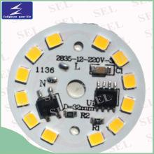 12 PCS LED 5W PCB para el bulbo