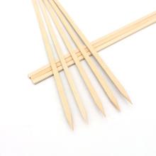 Hot Sale Bamboo Flat Skewer Healthy Kebab Skewers For Party, Restaurant, BBQ